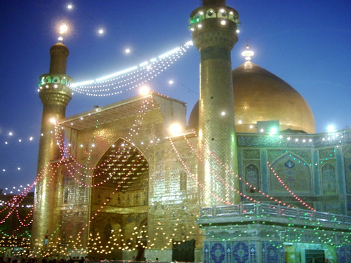 Celebration of Eid Al-Ghader in Najaf
