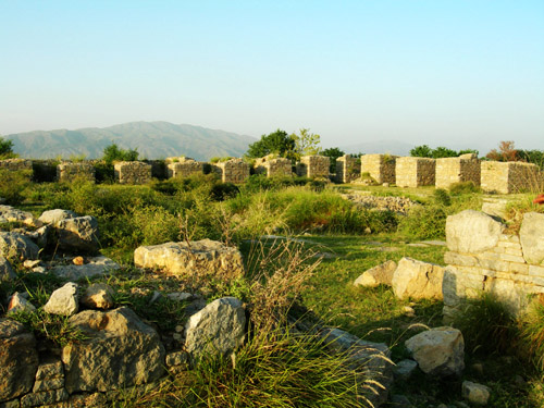 The Green Ruins of Taxila