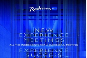 "Radisson Blu hotels launch ""Experience Meetings"""
