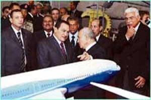 مصر: 85 شركة في معرض الطائرات