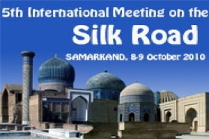 The 4th Int�l Meeting on the Silk Road in Bukhara on 27 October of 2002