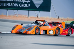 Reem International Race Circuit outlining the fourth Saudi Race Festival