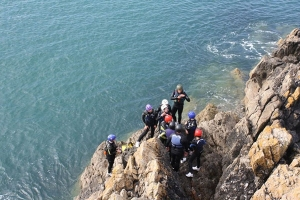Coasteering and Cliff-diving in Wales