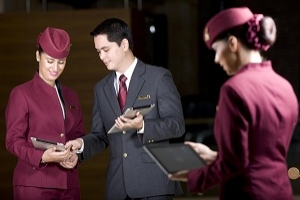 QATAR AIRWAYS ENHANCES ITS 5-STAR SERVICE WITH THE iPAD