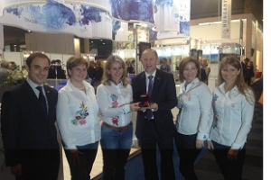 Best Stand Design Overall award on EIBTM in Barcelona