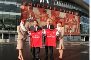 Emirates and Arsenal Agree New �150 Million Sponsorship Deal
