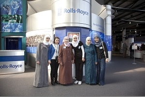 JORDANIAN BIG SCIENCE CHALLENGE WINNERS VISIT ROLLS-ROYCE IN DERBY, UK