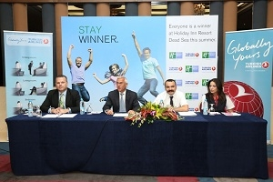 Holiday Inn Resort Dead Sea Announces Phase Two Of Its �Stay Winner� Campaign With Turkish Airlines