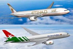 Air Seychelles, Etihad Airways: revenus en forte hausse
