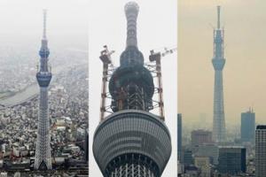 اليابان يفتتح أعلى برج في العالم