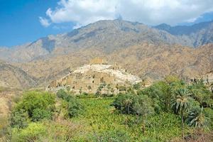 قرية ذي عين الأثرية الأسطورة السياحية