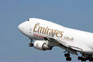 Emirates Airlines arrive أ  Seattle