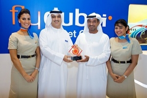 flydubai was named Best Low-Cost Airline Serving the Middle East for the second consecutive year
