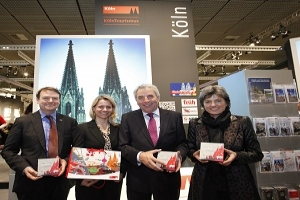 Cologne Tourist Board presented its tourism services at ITB 2012