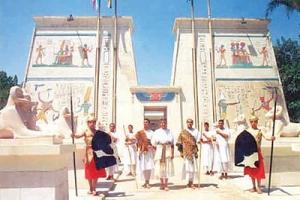 'القرية الفرعونية' على ضفاف نيل الجيزة