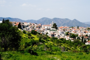 The mountainous area of Larnaka / Cyprus