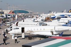 معرض الشرق الأوسط للطيران في دبي