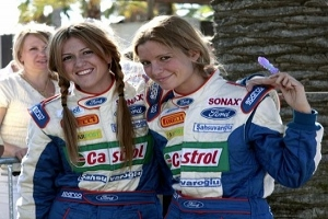 TURKISH FEMALE RALLYING DUO HOPING TO DELIGHT