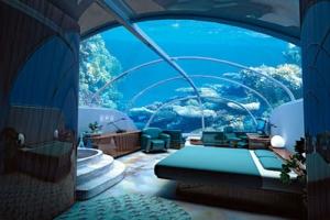 أحدث فندق تحت الماء في دبي