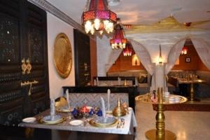 مطعم 'طانجيا' المغربي في الدوحة