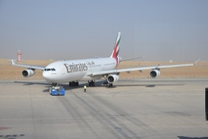 Emirates Arrives in Erbil