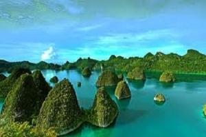 Wayag Island, Indonesia. Raja Ampat: